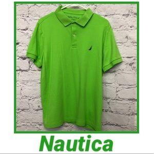 Green Nautica Slim Fit Polo